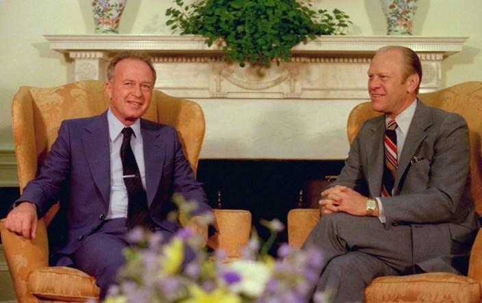 Rabin alla Casa Bianca