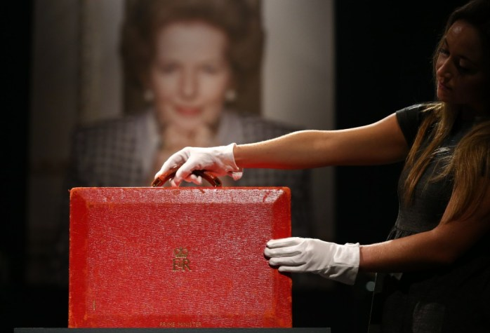 Christies Auction The Personal Belongings Of Margaret Thatcher