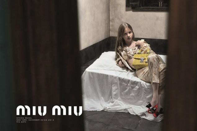 Censura pubblicità moda Miu Miu