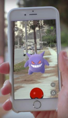 Pokemon Go smartphone