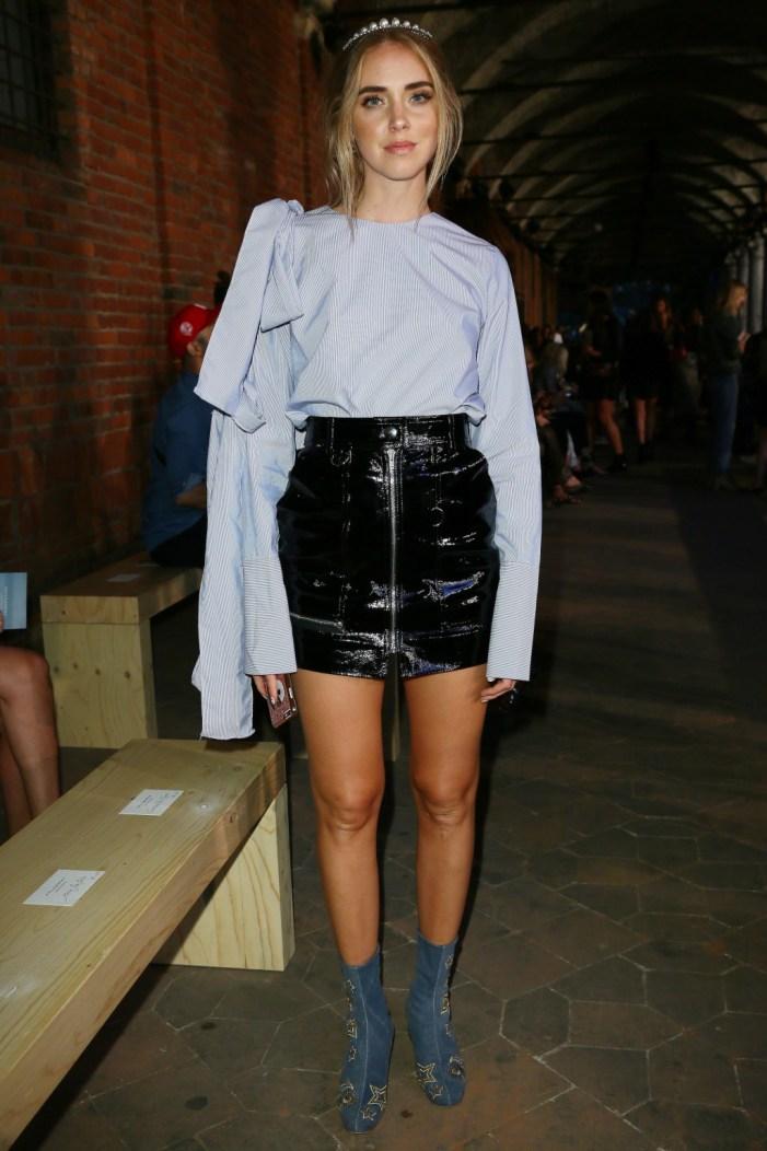 Philosophy Di Lorenzo Serafini - Front Row - Milan Fashion Week SS17