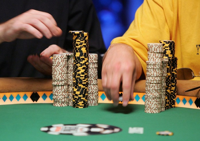 The No-Limit Texas Hold 'Em World Championship Poker Tournament Round 6