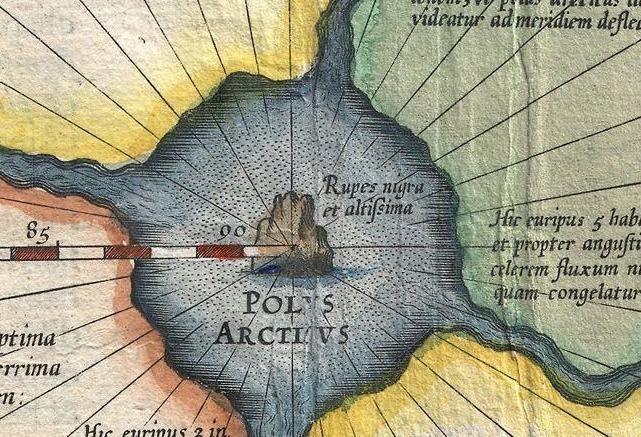Cartina Nord.La Misteriosa Prima Mappa Del Polo Nord Mai Disegnata Rivista Studio