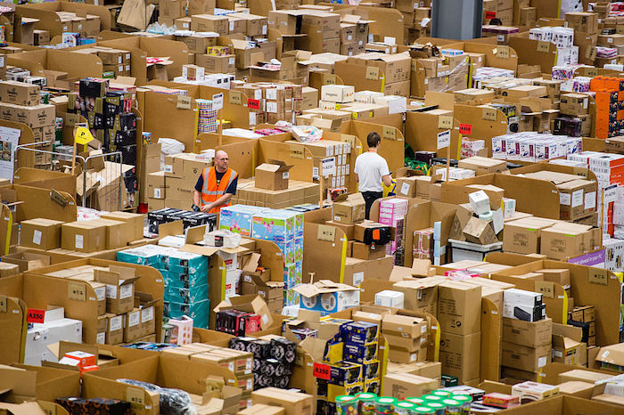 Amazon's Fulfilment Centre In Hemel Hempstead Gears Up For Black Friday