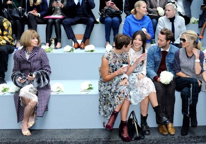 Erdem - Front Row: London Fashion Week SS14