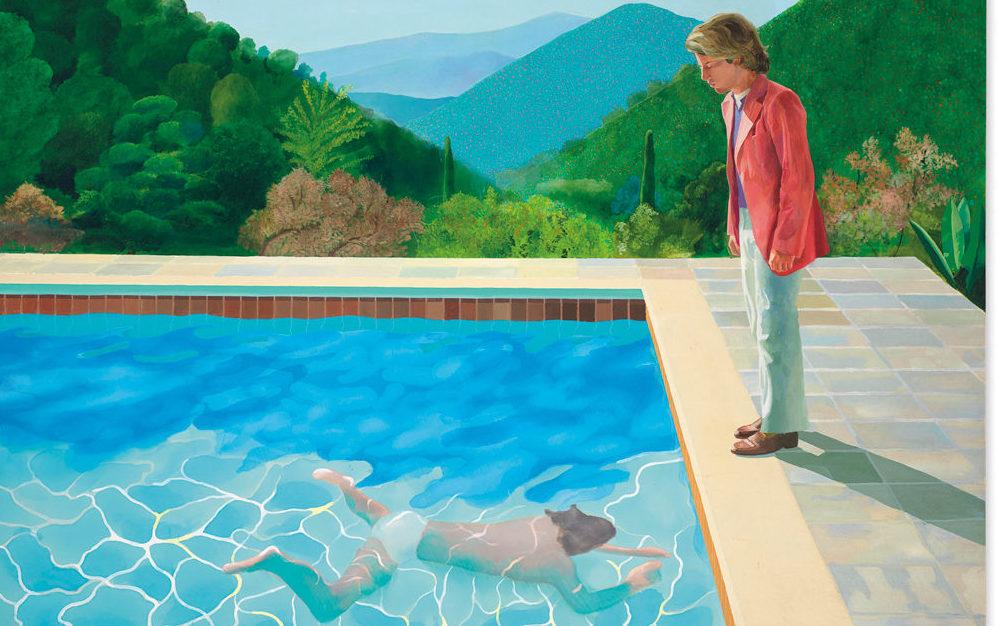 """Perché """"Ritratto di un artista"""" di David Hockney è così importante"""