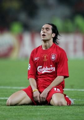 Luis Garcia quando non ci crede più. Clive Brunskill/Getty Images
