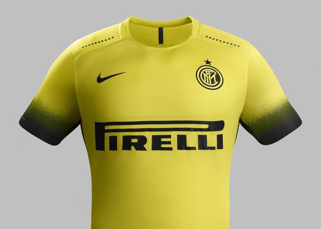 maglia inter gialla