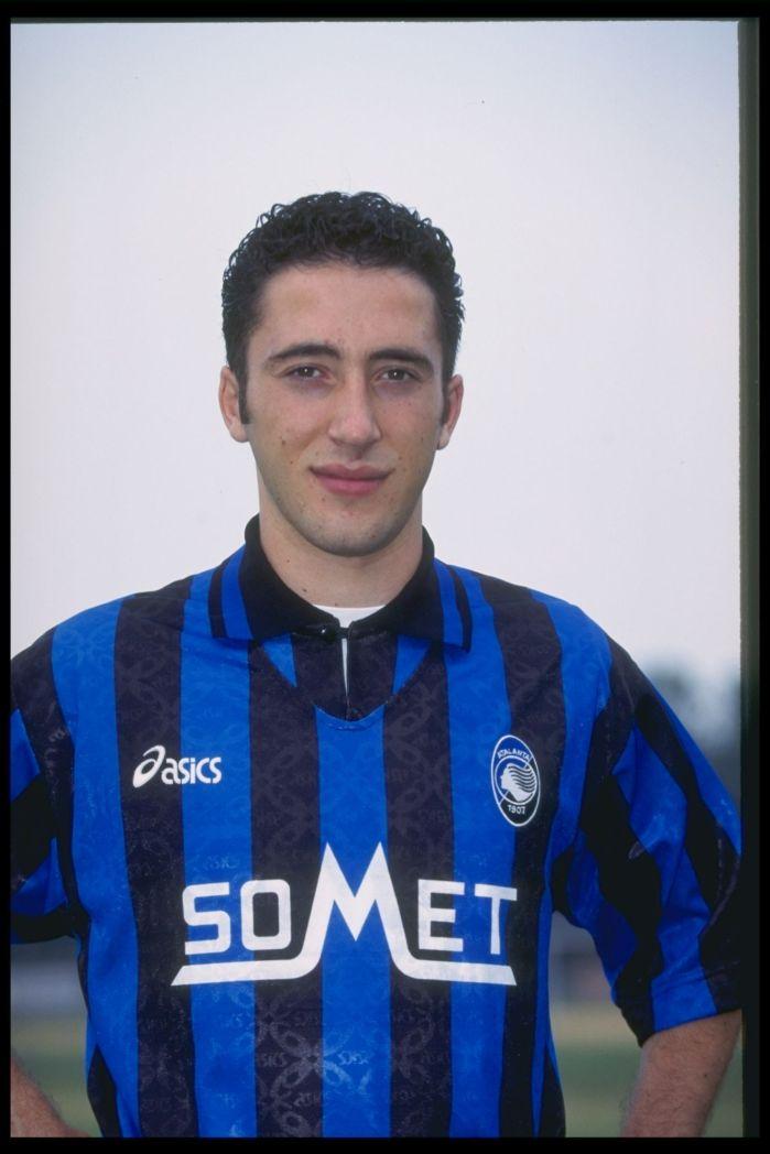 Domenico Morfeo, figurina del 1996 (Allsport UK)