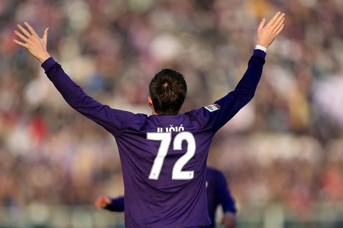 Iličić, in gol contro il Chievo Verona, dicembre 2015 (Gabriele Maltinti/Getty Images)