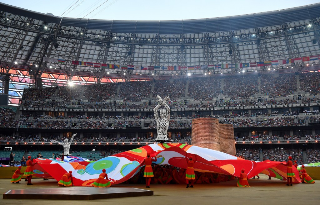 Closing Ceremony: Baku 2015 - 1st European Games