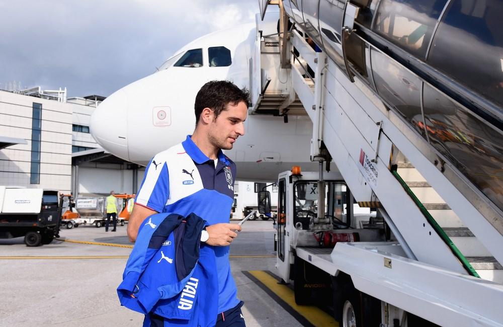 Ottobre 2015, Bonaventura a Baku con la Nazionale (Claudio Villa/Getty Images)