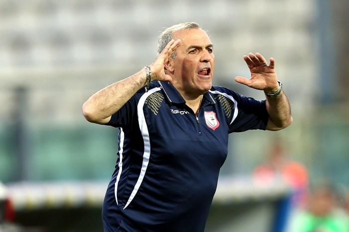 Fabrizio Castori, nella vittoria contro il Genoa (Gabriele Maltinti/Getty Images)