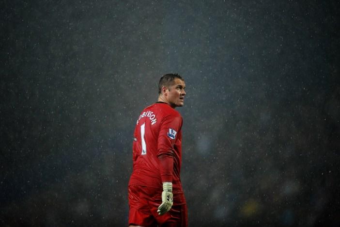 Robinson nel 2012, con la maglia del Blackburn (Laurence Griffiths/Getty Images)