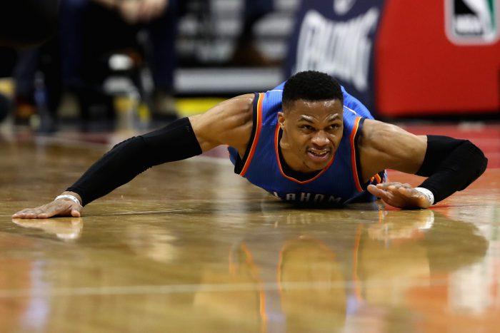 Oklahoma City Thunder v Washington Wizards
