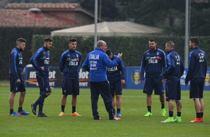 Italy Training Session