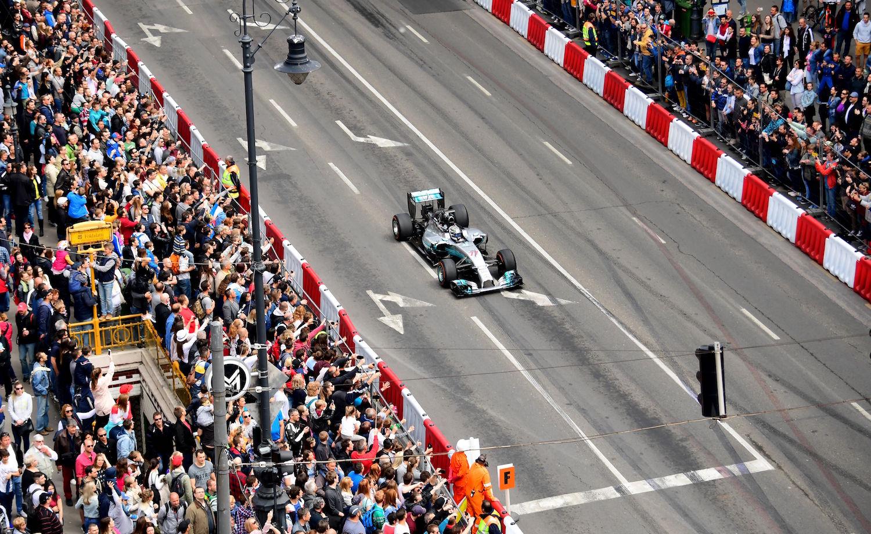 HUNGARY-F1-AUTO-SHOW