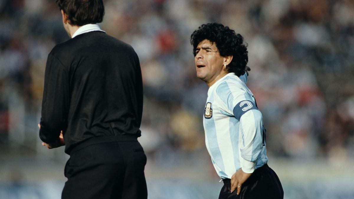 Ralenti Maradona