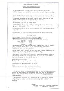 Un volantino sullo sciopero del 1972