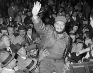Fidel Castro a New York nel 1959