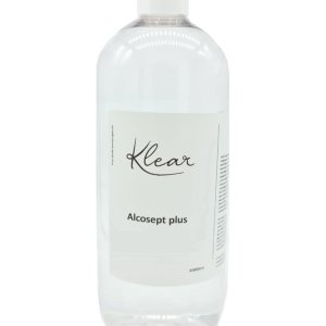 Klear Alcosept Plus 80% Alcohol 1000 ml