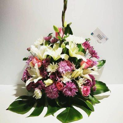 باقة ورد خليط من الزهور
