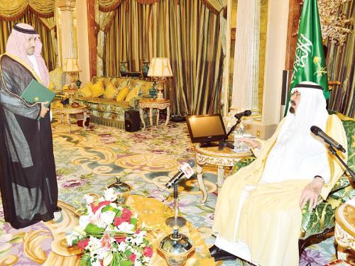 Citizen more important, King tells Prince Turki