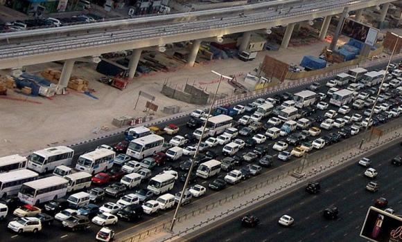 Jeddah Traffic congestion