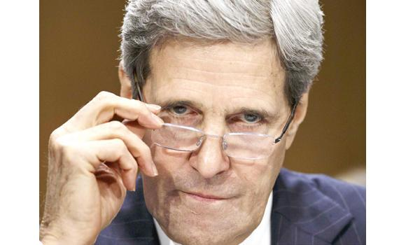 John Kerry ... peace efforts