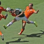 Netherlands into Last 8 after sinking Mexico