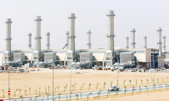 A general view of power plant number 10 at Saudi Electricity Company's Central Operation Area, south of Riyadh, in this April 27, 2012 file photo.