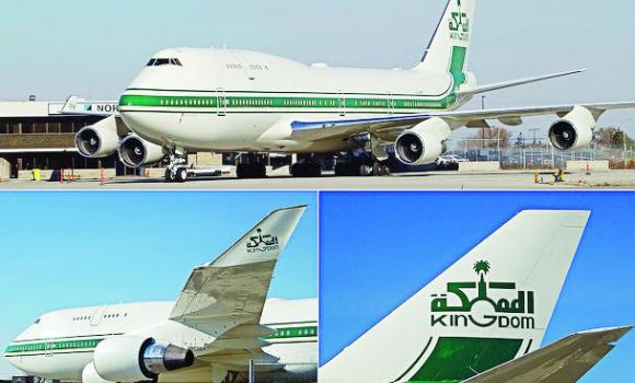 Saudi Arabia has 35 percent of all the registered planes in the Middle East.