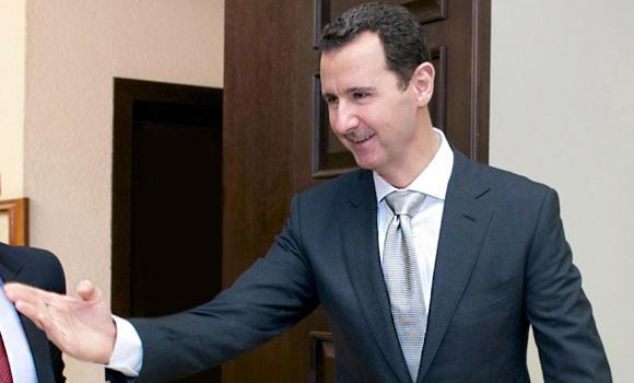 Syria's President Bashar Assad.