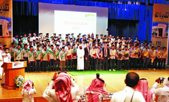 A total of 116 young Saudi students graduated from the Technical Trainers College (TTC) in Riyadh on Tuesday.