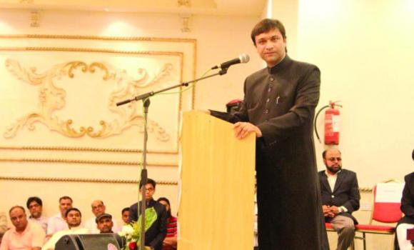 Akbaruddin Owaisi, an Indian politician from Hyderabad, Telangana, speaking here in Jeddah recently, has urged Muslims to unite, so that they can achieve economic progress.