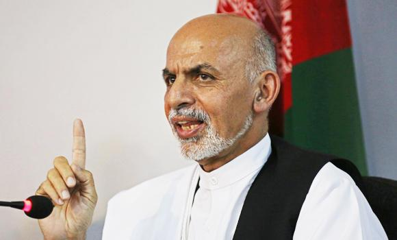 Ashraf Ghani Ahmadzai.