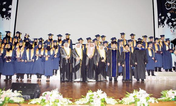 Batterjee Medical College graduates at a recent graduation ceremony.