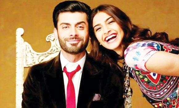 Fawad Khan and Sonam Kapoor