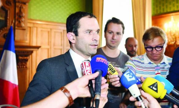 French Education Minister Benoit Hamon