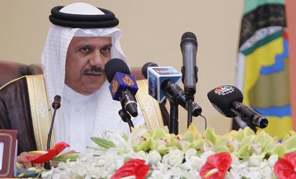 GCC Secretary-General Abdullatif al-Zayani