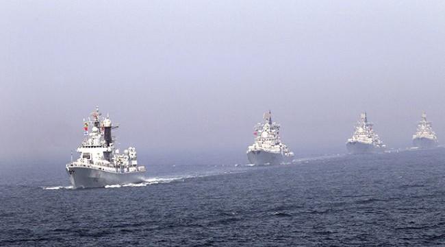 India Russian Naval Drills