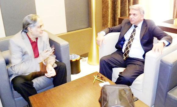 Pakistan Senator Mohammad Ishaq Dar, minister of finance and privatization, speaks to Arab News.