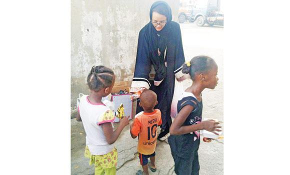 Ramadan is the month of giving where Muslims lend a helping hand by providing orphans a decent iftar and Eid clothing.