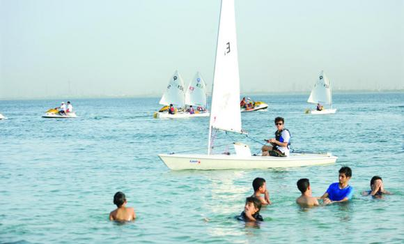 The Royal Commission of Jubail is holding various events for young and old this summer including sailing, football, volleyball and entertainment evenings.