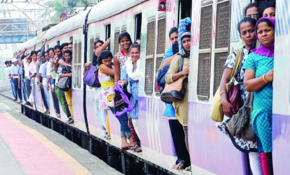 India has one of the world's largest railways, which transports 23 million passengers a day.