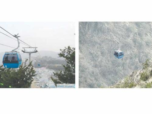 Al-Soudah cable cars