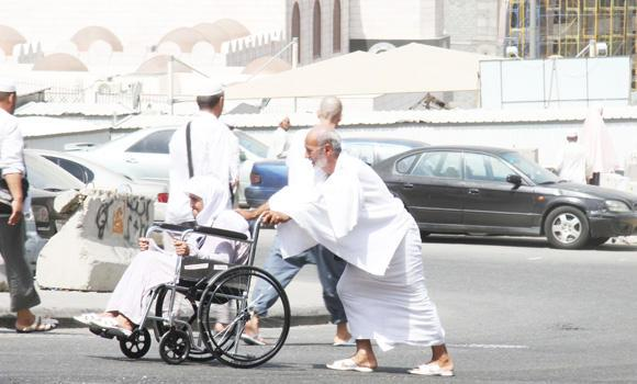 Haj Ministry and Civil Defense officials are asking Saudis and expatriates in the Kingdom to perform Umrah only once during Ramadan to give others, especially the elderly and physically weak, a chance to do their pilgrimage with ease.
