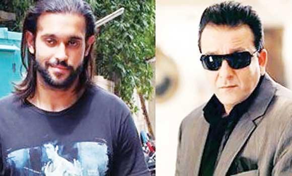 Akhil Kapur and Sanjay Dutt
