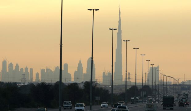 Dubai's Burg Khalifa, the world's tallest building, is seen under construction in this January 20, 2008, file photo. Dubai has announced plans to send a spacecraft to Mars by 2021.