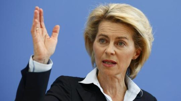 Germany's Defense Minister Ursula von der Leyen said her country will send weapons to the Kurdish fighters battling ISIS in Iraq.